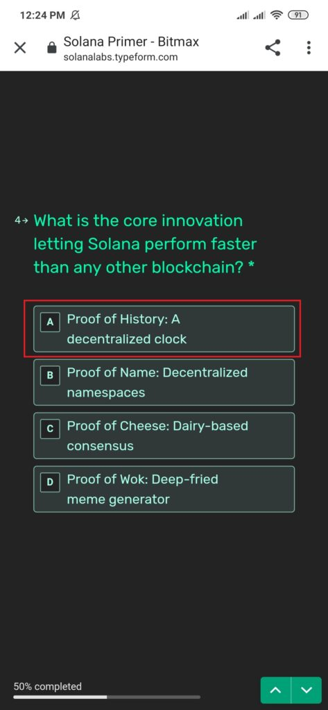 what is the core innovation letting solona perform faster than any other blockchain?